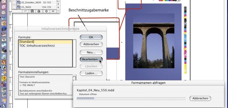In Adobe InDesign Inhaltsverzeichnisse bauen, sodass sich diese selbsttätig aktualisieren lassen