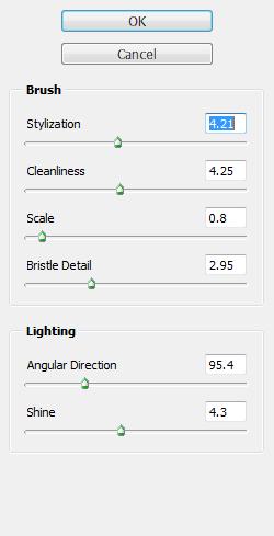 Nur eine Handvoll Optionen und doch eindrucksvolle Resultate: Photoshops neuer Ölmalfilter in CS6