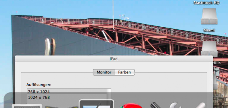 Das iPad als ein berührungssensitiver, drahtloser Zweitbildschirm für den Mac: Air Display im Einsatz