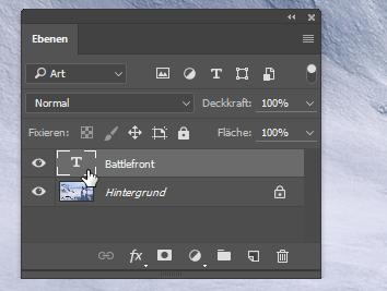 Einen Textabschnitt in Photoshop schnell und präzise auswählen