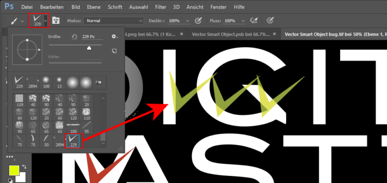 Photoshop-Tipp: So definieren Sie eigene Pinselspitzen anhand einer aktiven Auswahl