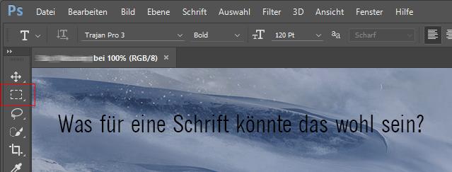 Photoshop-Tipp:Schriften in Bildern erkennen