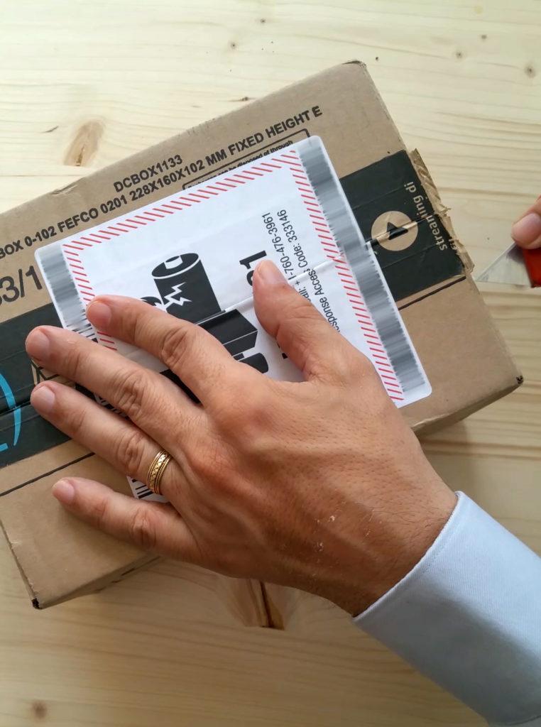 Box auspacken