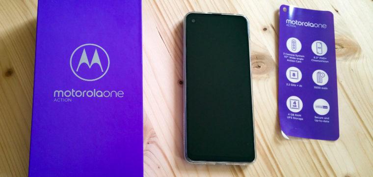 Testbericht: Motorola One Action